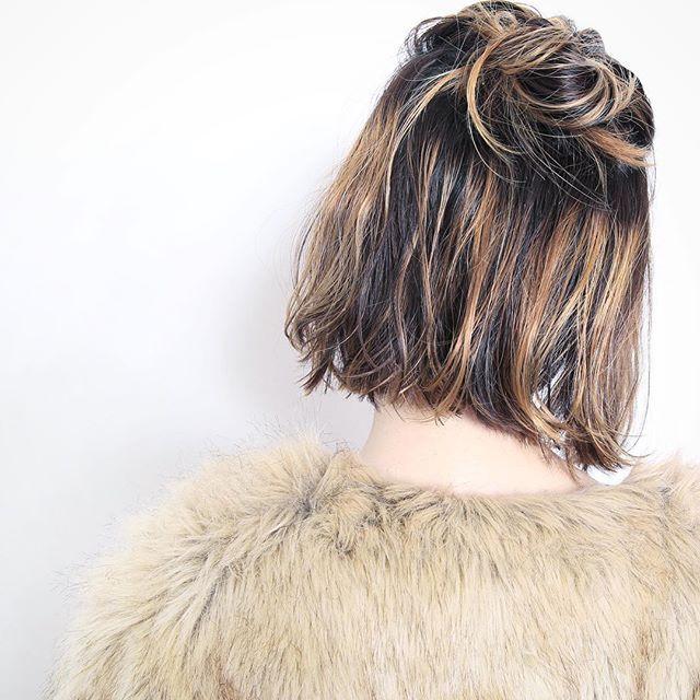 イメージを落とし込んでみたら、かわいさが半端ない! #ヘア#ヘアスタイル#サバービア#外苑前#表参道#青山#美容室#髪#外国人風#ロング#ボブ#ブリーチ#グラデーション#カット#カラー#サロンモデル#グレージュ#かわいい#ボブ#ハイライト#パッツン#ブラントカット#hair#hairstyle#bob#tokyo#cute#happy