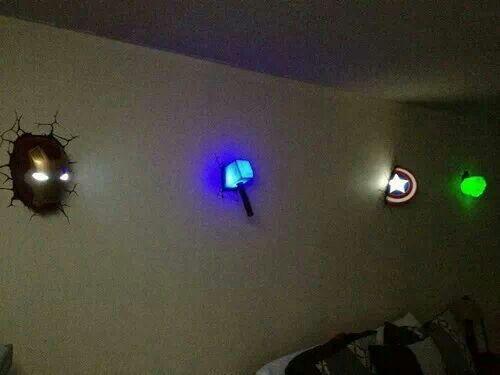 Avengers Room Lighting