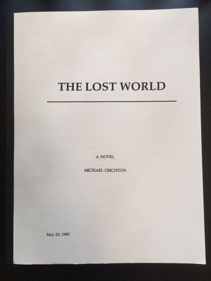 Michael Crichton The Lost World ARC with Signed Photo