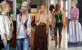 Nina from Offspring - would love to own have her wardrobe!!