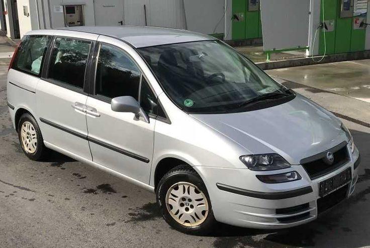 Fiat Ulysse 2.2 jtd - 7 Sitzer - grüne Plakette- Scheckheft - 1. Hand!