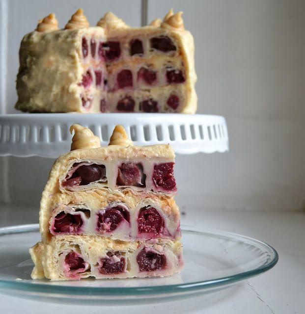 S-Küche: Kirsch-Karamell Torte  http://s-kueche.blogspot.de/