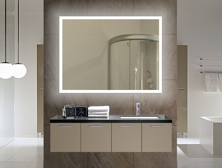Bathroom Mirrors Led best 25+ backlit mirror ideas on pinterest | backlit bathroom