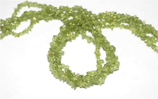 "2 Strand Peridot Endless Shape Chips Beads Strands,Jewelry Making Chips,36"" Long #Empressbeads"