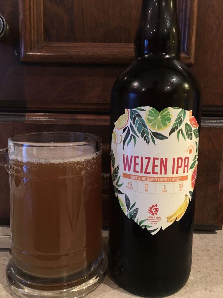 Weizen IPA houblonné à 6% par Lion Bleu. 4/5