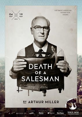 Death of a Salesman dessein blog #theater posters