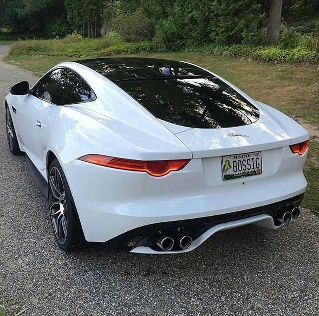 Booty of the Jaguar F-Type R  Dope or Nope? • Follow @vedettluxury • • Photo by: @supercarsbuz • #vedettmotors #jaguar #ftype