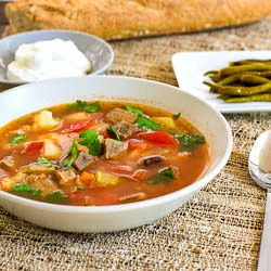 Romanian Beef Soup