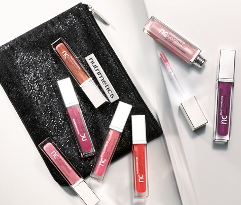 This non-sticky formula gives lips a luscious shine in a choice of soft and bold colours. Get sparkly with nc Lip Lightning Lip Gloss #nutrisummer