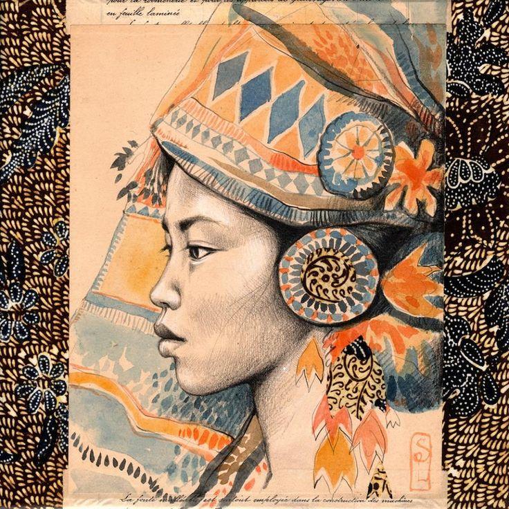 Reine Minangkabau - Sumatra - Indonesia