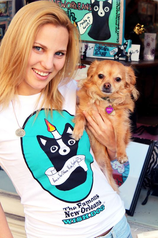 Laura Flannery, Wish Dogs Tee by Ally Burguieres
