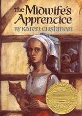 "Karen Cushman's Newbery Medal-winning classic about a young girl with no family, no home, and no future who becomes the apprentice of a midwife and finally learns to want something from life: ""A full belly, a contented heart, and a place in this world."""