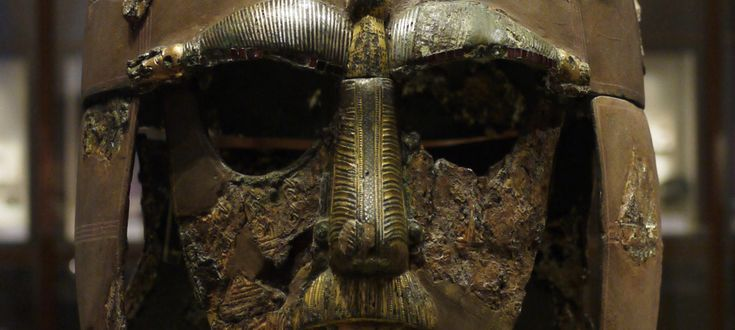 The new Sutton Hoo exhibit at the British Museum.  http://www.medievalists.net/2014/06/05/conferences-sutton-hoo-british-museum-new-directions-new-display/  #AngloSaxon #SuttonHoo