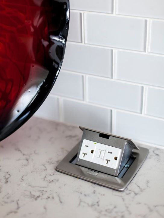 15 Best Kitchen Pop Up Power Outlets Images On Pinterest