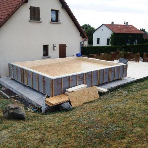 1000 ideas about extension ossature bois on pinterest maisons ossature bois construction. Black Bedroom Furniture Sets. Home Design Ideas
