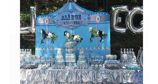 NEŞELİ SÜS EVİM: Ali Ağoğlu'nun Oğullarının Doğum Günü Partileri