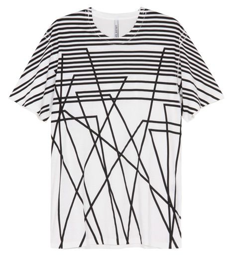 Neil Barrett  Geometric tee