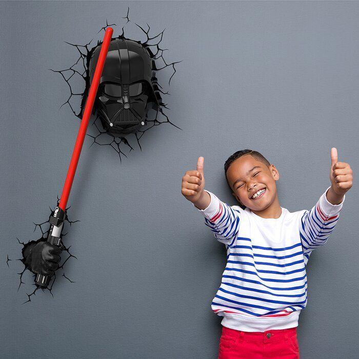 3d Ep 7 Star Wars Darth Vader Saber Deco Night Light In 2020 Star Wars Darth Star Wars Darth Vader Star Wars Room