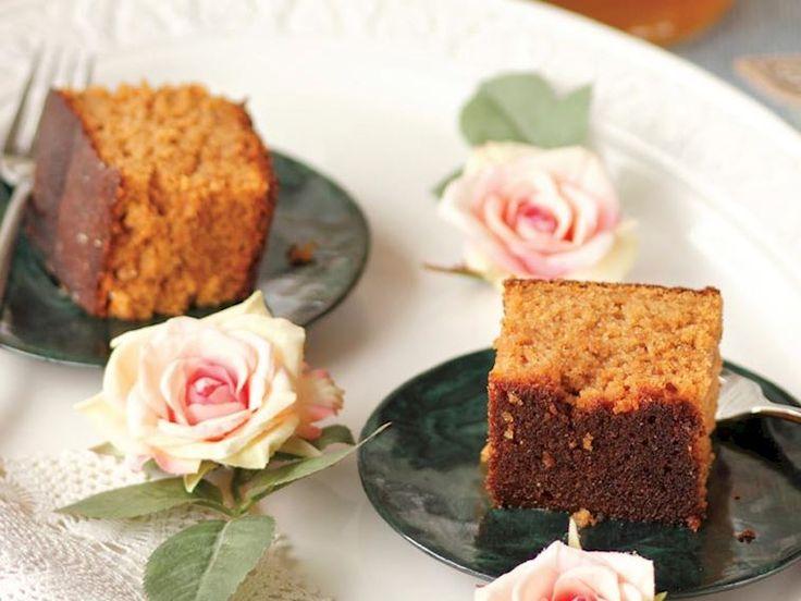 Bal şuruplu ve zencefilli kek