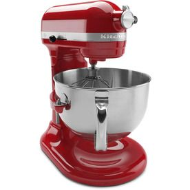 Kitchenaid Professional 600 6-Quart 10-Speed Empire Red Countertop Stand Mixer Kp26m1xer