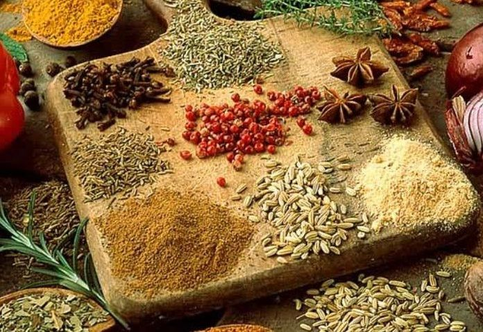 9 Super Spices with Super-Healing Powers: GARLIC wards off heart disease. CINNAMON consumption is linked to lower blood sugar. CURRY for joint health. STAR ANISE aids digestion. CARDAMOM improves energy. CLOVES to alleviate toothaches, sore throats, diarrhea, and stomach cramps. CUMIN boosts immunity. FENNEL SEED soothes your intestines. GINGER remedies aches and nausea. Discover the […]