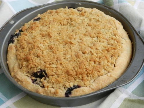 Blueberry Crumble Pie | Blueberry Hill | Pinterest