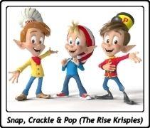 Snap, Crackle & Pop / The Rice Krispies / Kellogg's
