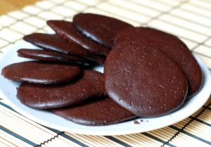 Low Carb Flourless Chocolate Cookies {gluten free}