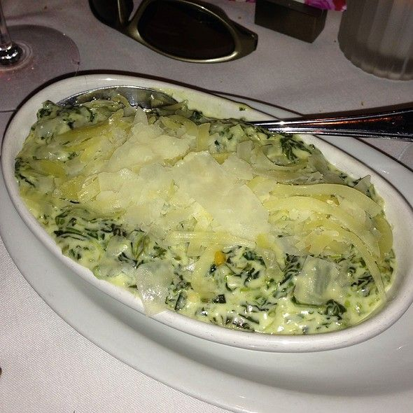 Fleming's Prime Steakhouse Creamed Spinach ♥ Steakhouse Chain Restaurant Recipes