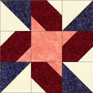 Indiana quilt block