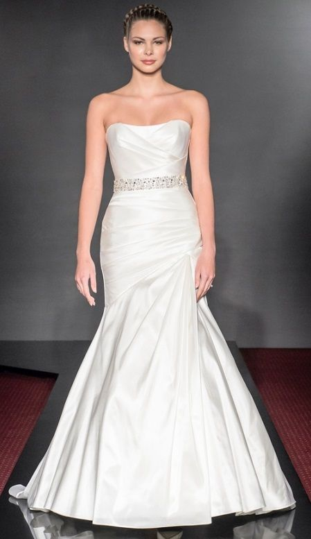 Diamond Fishtail Wedding Dresses : Best images about suzanne neville diamond collection on