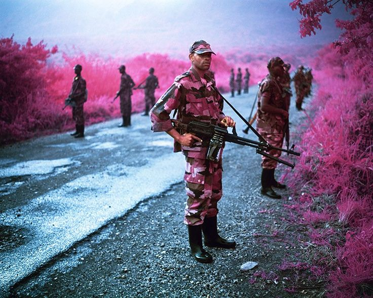 Disappearer , 2012, digotal c-print by RICHARD MOSSE