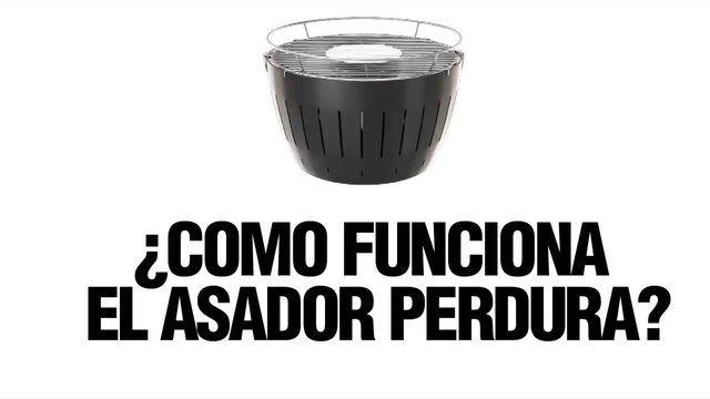 """Nuevo Asador Portátil """"Lotus Grill"""" de la marca Perdura. ¡Llévalo a todas partes!"""