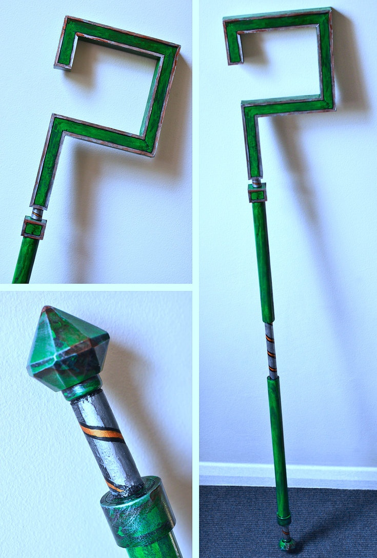 Cosplay Prop Riddler's Cane - Arkham City by ~Geemaa-pix