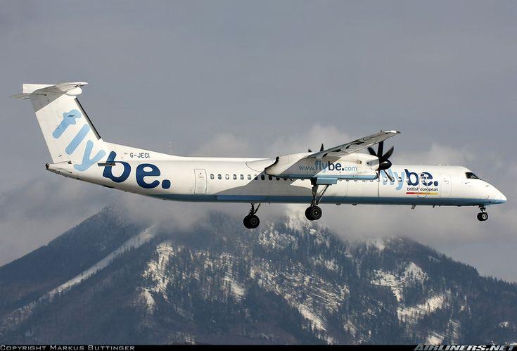 Flybe - British European G-JECI De Havilland Canada DHC-8-402Q Dash 8 aircraft picture