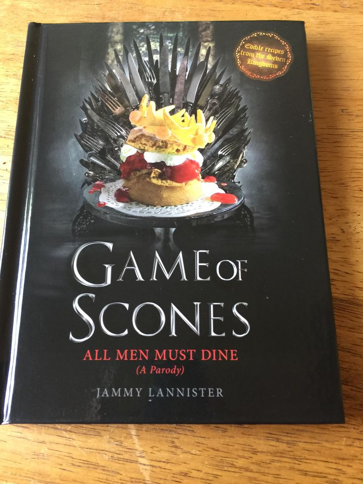 [No Spoilers] My Secret Santa came through and got me A Game of Scones recipe book which I had really wanted!