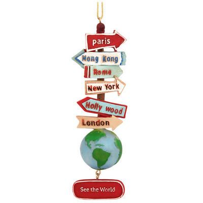 46 best Travel Tree images on Pinterest | Glass ornaments ...