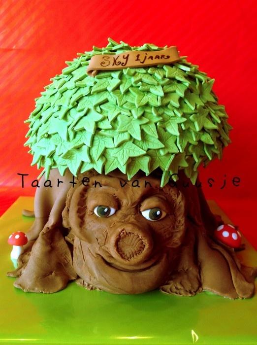 Sprookjesboom taart cake Taarten van Guusje