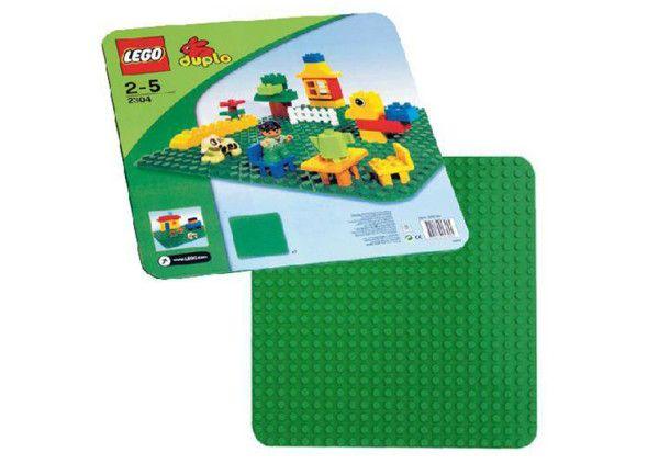 PLACA VERDE LEGO DUPLO (2304) Incepe creatia aici !  Chiar si imaginatia cea mai mare trebuie sa faca primul pas – placa noastra este ideala pentru acest lucru !