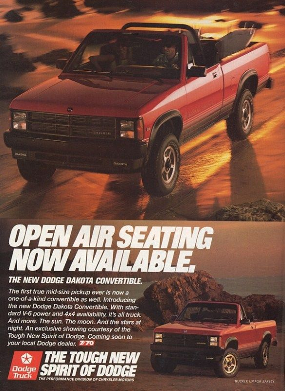 Pin By Brian Bootydaddy On Shop In 2020 Dodge Dakota Dodge Car Ads