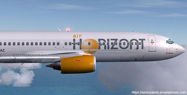 AIR HORIZONT B737-436  Texturas para Fsx (archivos DDS).  Air Horizont B737-436 es posible gracias a Eric Cantú y Eagle Rotorcraft Simulations que finalizaron conviertiendo a nativo de FSX éste modelo que tanto demandabamos los repainters para fsx y con cabina virtual (VC), gracias.