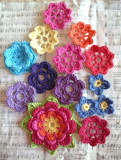 crochet, use these on your pages, they will be beautiful.....