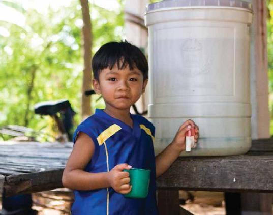 Ceramic Water Filters Win IWA Award for Cambodia