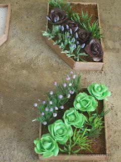 Several plant tutorials (pumpkin vine, lettuce, chives, lavender, tomatoes, etc.) minttumeiramin miniatyyrit: Vihannekset ja yrtit