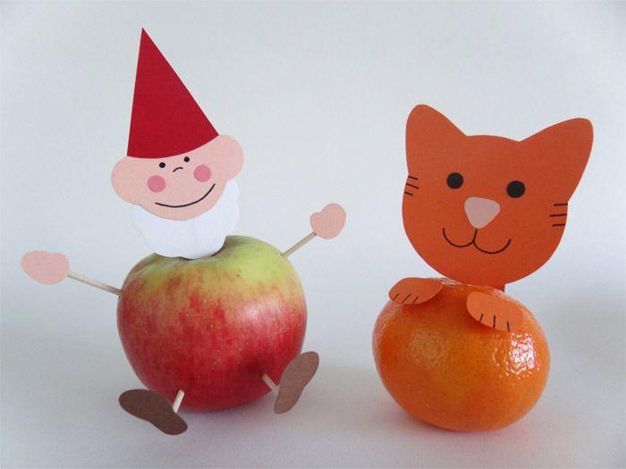 fruit traktatie kabouter en poes