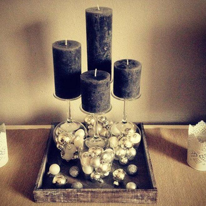 Inspiration gesucht? 25 kreative Adventskränze, die wir lieben! Geniale DIY Idee mit Weingläsern!