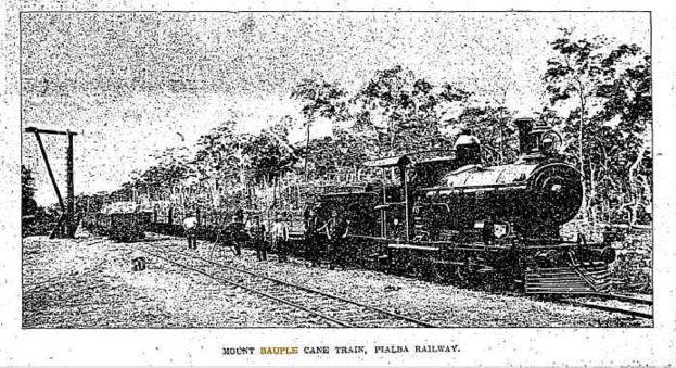 1910 Mount Bauple Cane Train, Pialba Railway