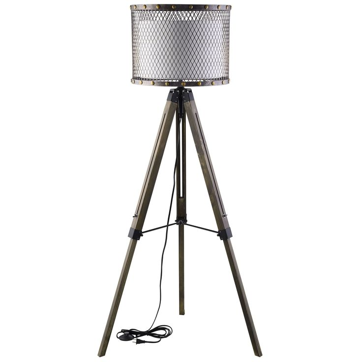 Modway Furniture Fortune Floor Lamp EEI-1571 Liberate the light of plenty with the Fortune Floor Lamp. Escape the fetter and illuminate to abundance with a piece that artfully blends steel, fabric, an