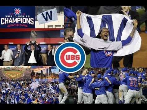 CUBS Go All The Way By Eddie Vedder : Winning the World Series in Game 7 - YouTube