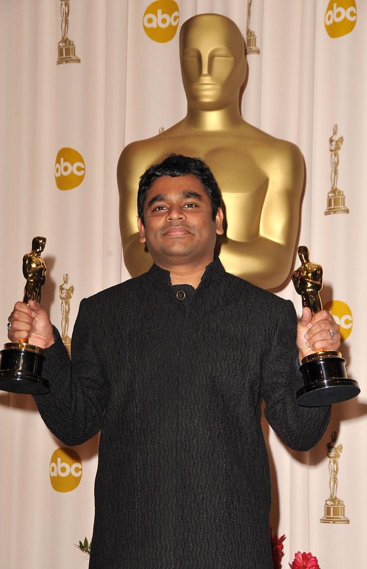 AR Rahman! INDIAN Musician winning Grammy and Oscar award winner for his music.